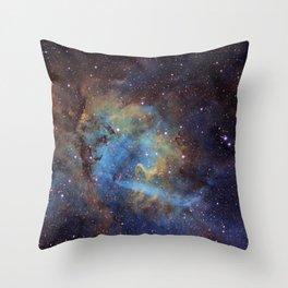 Emission Nebula Throw Pillow