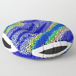 Gaudi-esque Floor Pillow