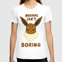 eevee T-shirts featuring normal eevee by deerboywonder