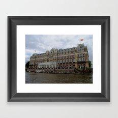 Amsterdam Hotel Framed Art Print