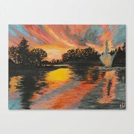 Jarry Parc at Sunset  Canvas Print