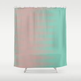 Combination 2 Shower Curtain
