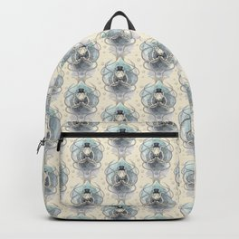 Victorian squid Damask pattern Backpack