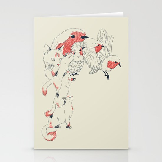 Non Wind-Up Robin Stationery Cards