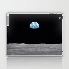 Earth rise over the Moon Laptop & iPad Skin