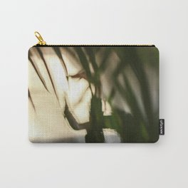 Dancing people, dance, shadows, hands and plants, blurred photography, dancer, forest, yoga Carry-All Pouch