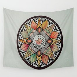 Arrival of Fall Wall Tapestry