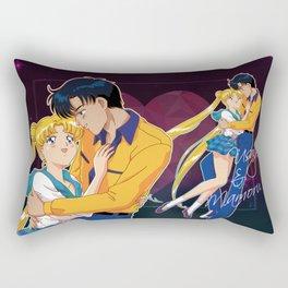Usagi and Mamoru Rectangular Pillow