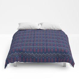 Christmas Stripes Comforters