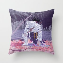 Iudex Throw Pillow