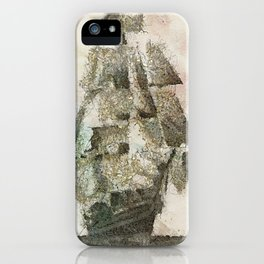 Mary Celeste - a ghost ship iPhone Case