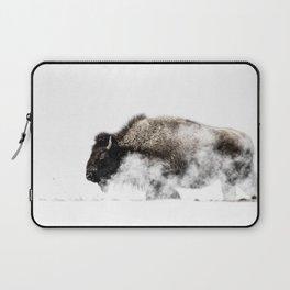 Bison Yellowstone Winter Laptop Sleeve
