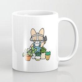Corgi Garden Succulents Coffee Mug