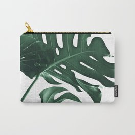Tropical Monstera Finesse #1 #minimal #decor #art #society6 Carry-All Pouch