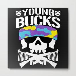young bucks Metal Print