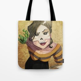 Lady Death's Looking at You Tote Bag