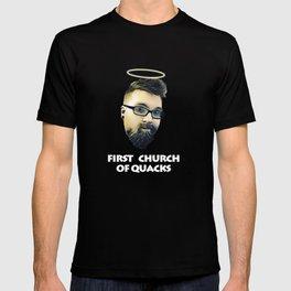 First Church of Quacks T-shirt