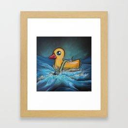 Quacken Framed Art Print