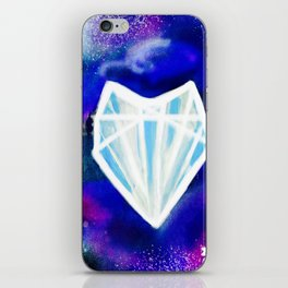 Hearts or Diamonds, I'll Take Diamonds iPhone Skin