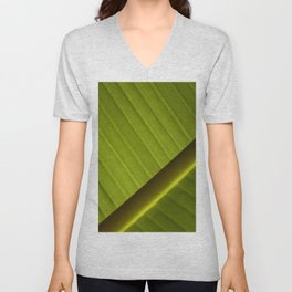 Banana Leaf Unisex V-Neck