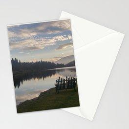Morning Lake Stationery Cards