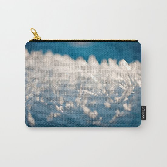 Mountain Snow Macro Carry-All Pouch