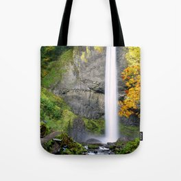 Bridge Over Rocky Waters Tote Bag
