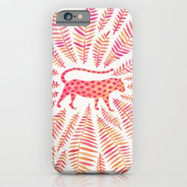 Jaguar – Pink Ombré Palette iPhone Case