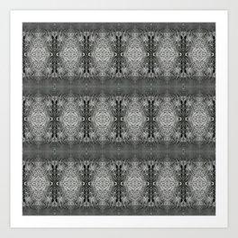 CharcolSnow Art Print