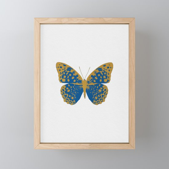 Blue Butterfly by paperpixelprints