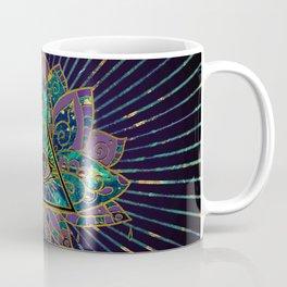 All Seeing Mystic Eye in Lotus Flower Coffee Mug
