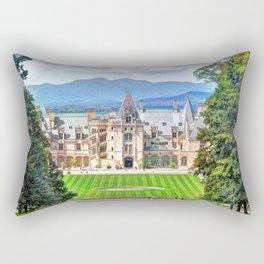 Biltmore House Rectangular Pillow