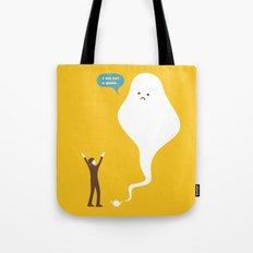 I am not a Genie... Tote Bag