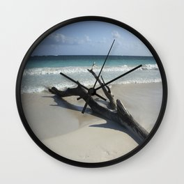 Carribean sea 13 Wall Clock