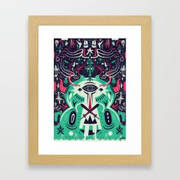 Spirit of the gods Framed Art Print