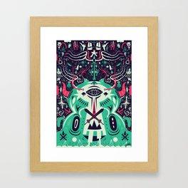 Spirit of the gods Framed Art Print