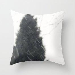 The bleak winter Throw Pillow