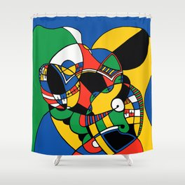 Print #2 Shower Curtain