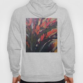 Vibrant Flower Abstract Hoody