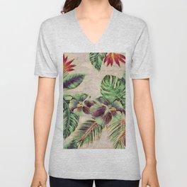 Miami Garden Unisex V-Neck