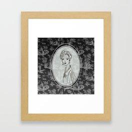 Belle de Jouy 2 Framed Art Print