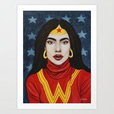 Super Gurls - 01 Art Print