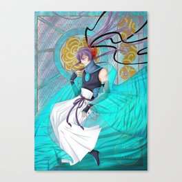 Turquesa Canvas Print