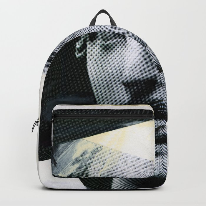 Untitled (Painted Composition 8) Backpack