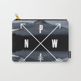 PNW Pacific Northwest Compass - Mt Hood Adventure Carry-All Pouch