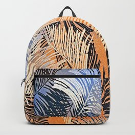 Palm Leaves By Annie Zeno Backpack