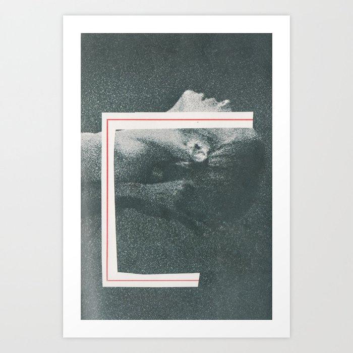 A Thin Red Line Art Print By Thenewgravycake Society6
