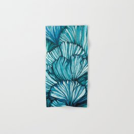 Blue Coral Hand & Bath Towel