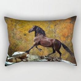 Reflections of Fall Rectangular Pillow