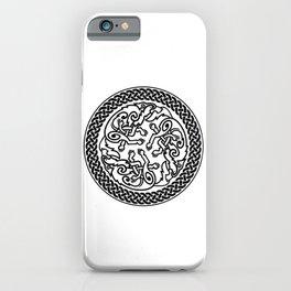 Celtic Knot Irish Wolves iPhone Case